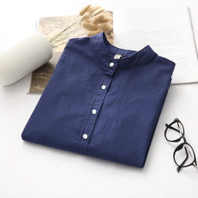 Casual Woman Office Blouse Wear High Quality