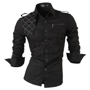 Long Sleeves Casual Shirts Slim Fit