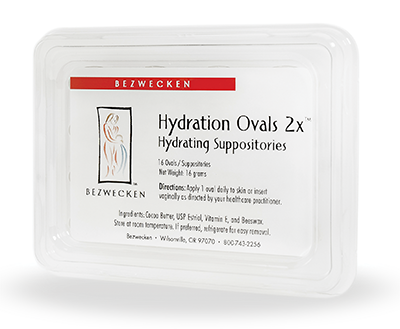 Hydration Ovals 2x - 16 oval suppositories/16 grams