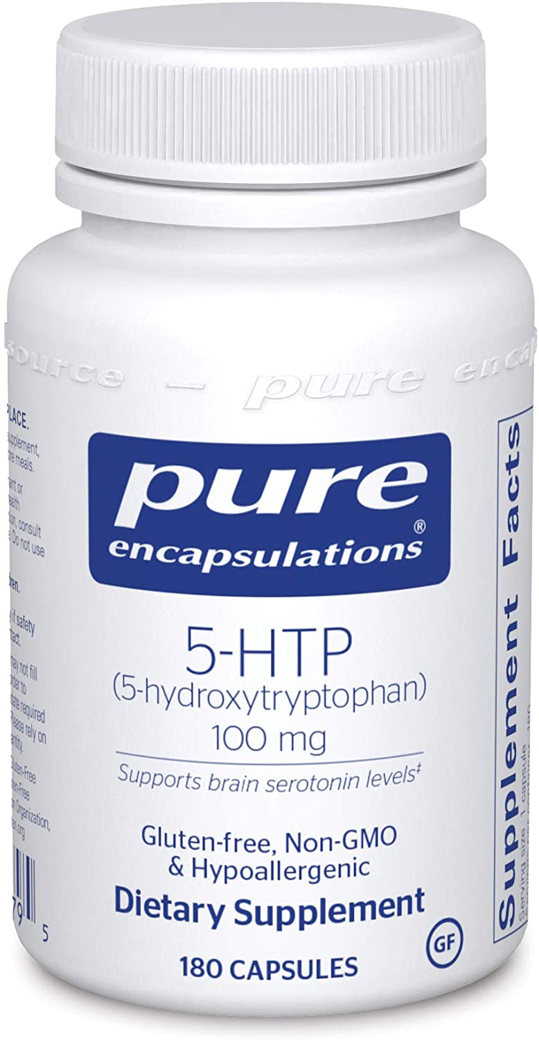 5-HTP (5-Hydroxytryptophan) 100 mg. 60's