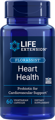 FlorAssist Heart health Pro 60 Vegetable Capsules
