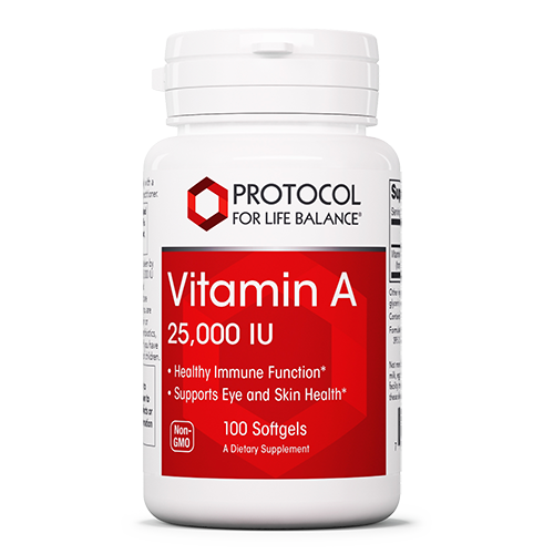 Vitamin A 25,000 IU 100 caps