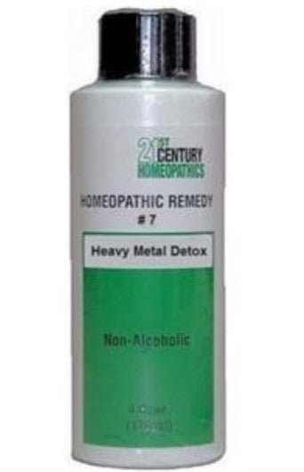 Homeopathic Remedy #7 - Heavy Metal Detox
