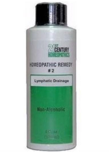 Homeopathic Remedy #2 - Lymphatic Drainage