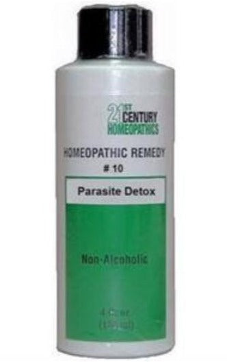 Homeopathic Remedy #10 - Parasite detox