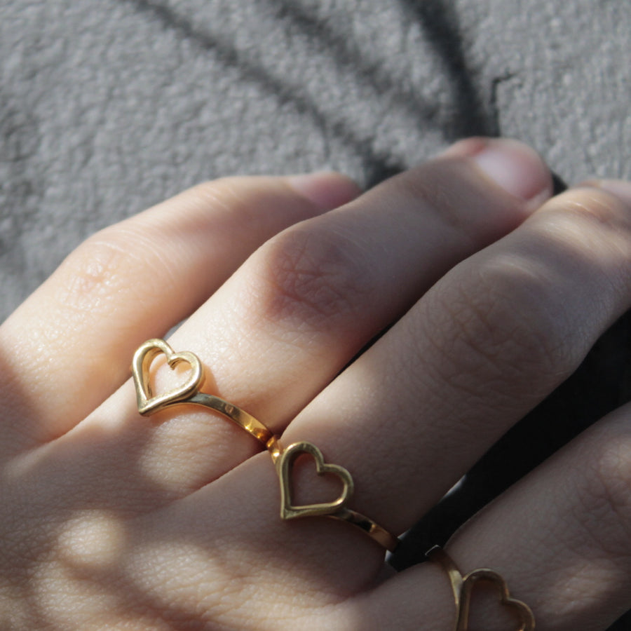 ANILLO CORAZON MINI