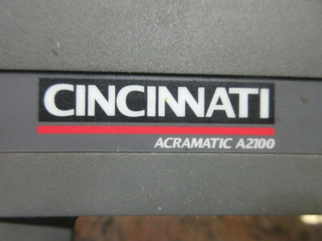 CINCINNATI 750 ERO ACRAMATIC A2100 MONITOR COVER SCN-AT 002744-FTM 907443-000