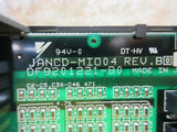 YASKAWA CIRCUIT BOARD JANCD-MIO04 DF9201221-B0 REV.B CNC MI004 LOT OF 3 PIECES