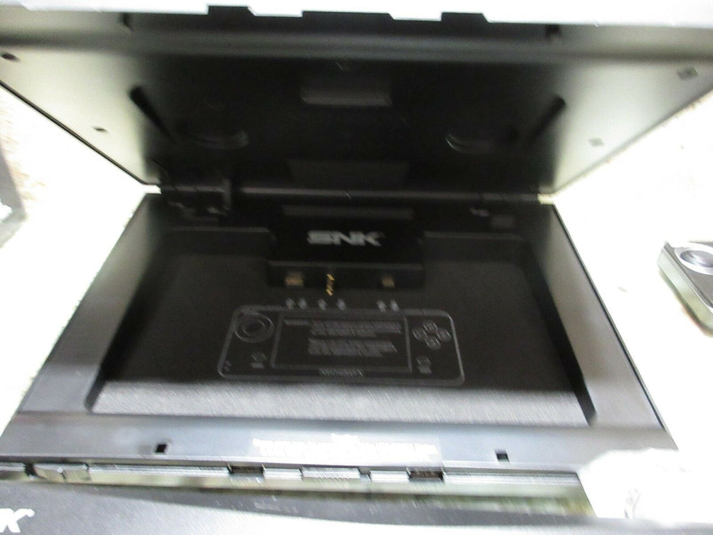 NEO GEO X GOLD CONSOLE NG-001 AES USA VIDEO GAME SYSTEM NINJA MASTERS TESTED