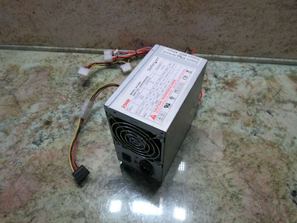 STARTECH POWER SUPPLY AP-300X 250W ATXPOWER250 WARRANTY