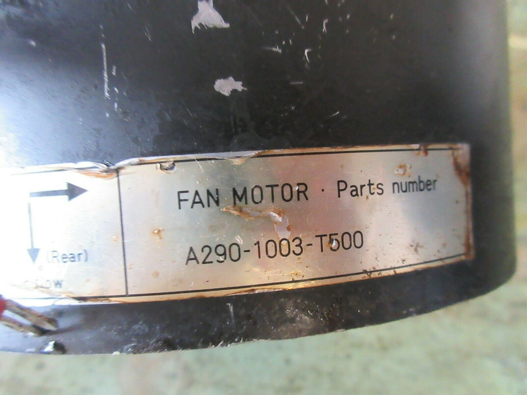 FUJI FANUC BOX FAN MOTOR A290-1003-T500 SPINDLE MOTOR FAN