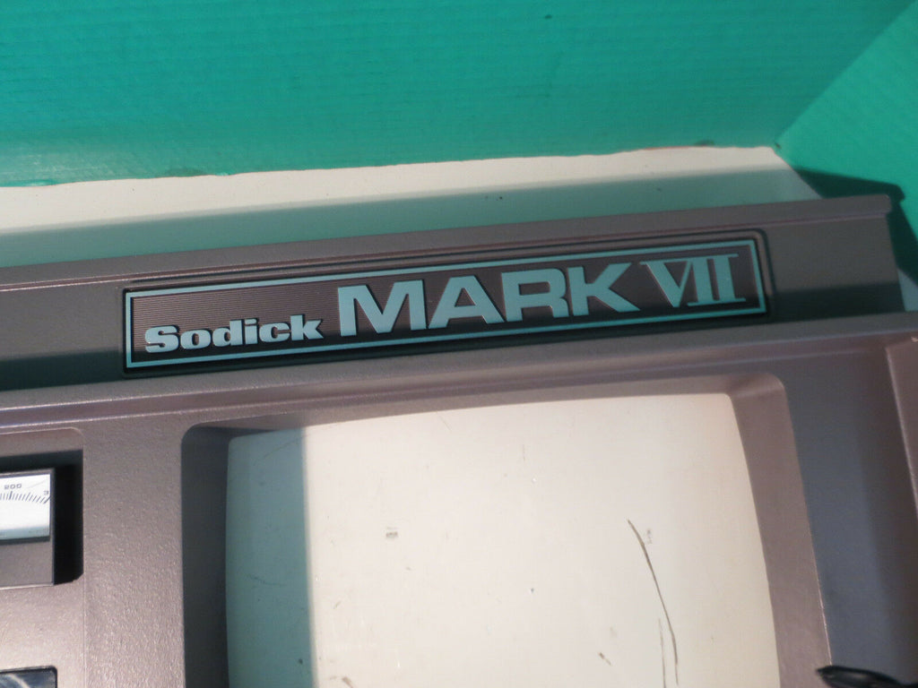 SODICK FS-A3C MARK V OPERATOR MONITOR PANEL KEYBOARD WARRANTY