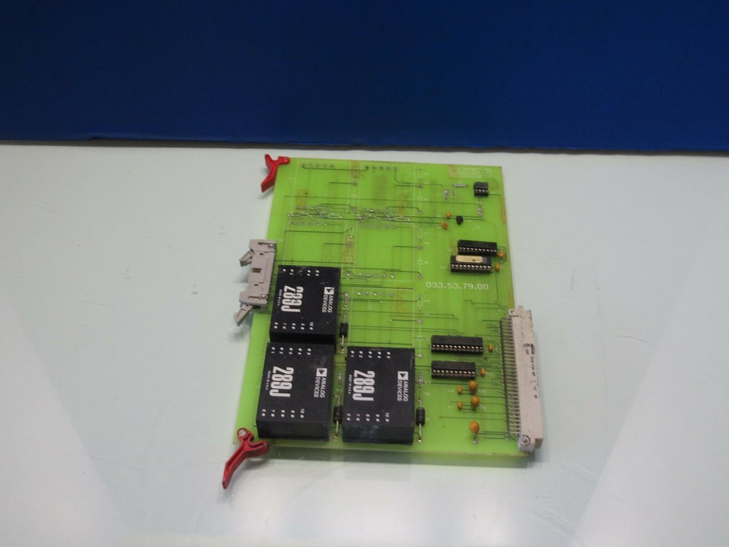 CLOOS ENGINEERING SA CIRCUIT BOARD 033.53.79.00 CNC
