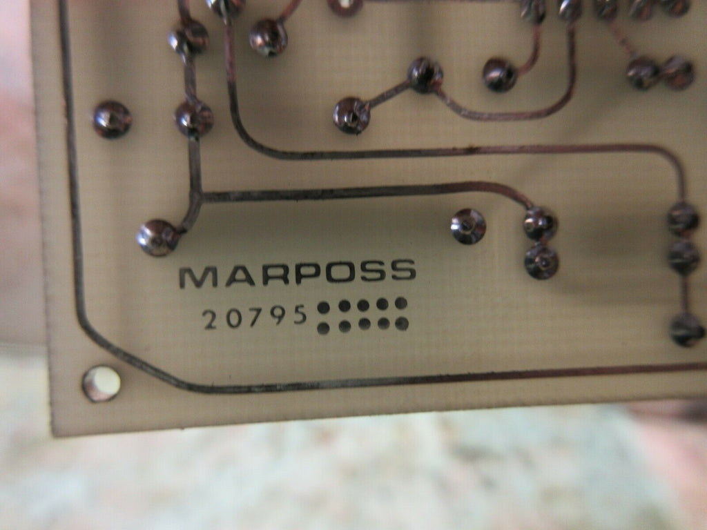MARPOSS CIRCUIT BOARD 20795 WARRANTY