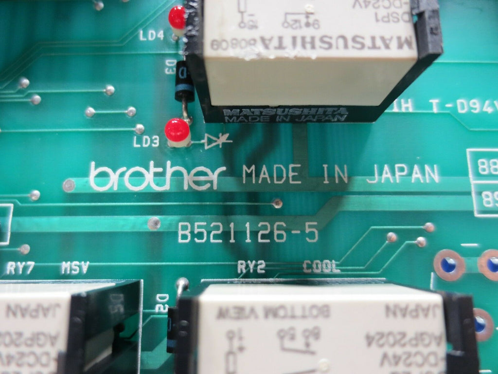BROTHER CIRCUIT BOARD B521126-5 EACH 1 WARRANTY