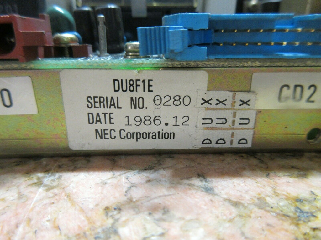 NEC POWER BOARD DU8F1E D8F 163-239040 6Z5065 NRC-400II EACH 1