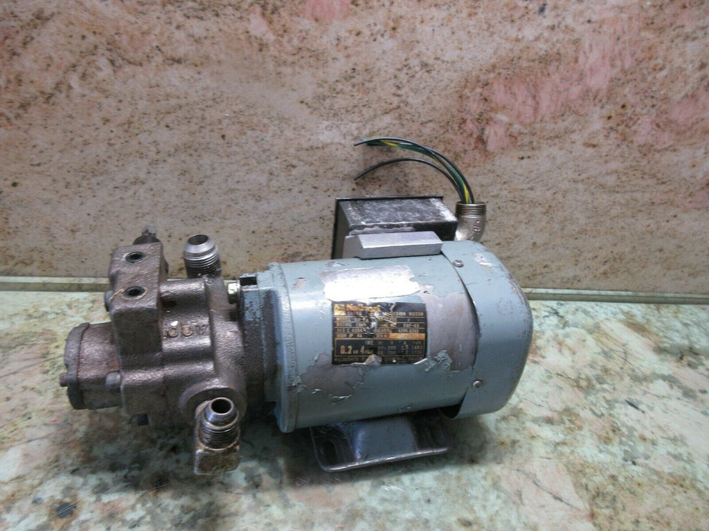 NATIONAL EM-FA FAF-63 MAKINO FNC 106 CNC MILL HYDRAULIC MOTOR PUMP WARRANTY