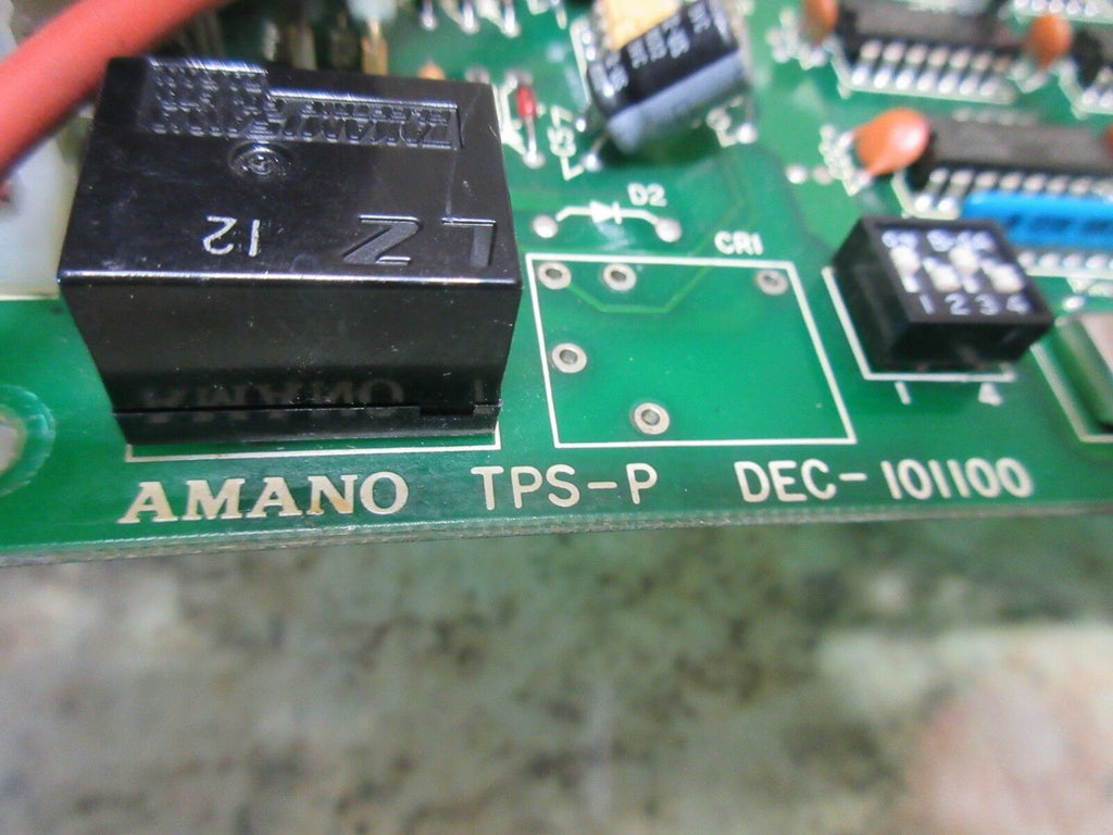 AMANO CIRCUIT TPS-P DEC-101100 BOARD