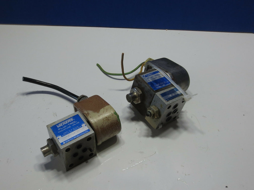 TOKIMEC MINIATURE VALVE DG4M4-32A-20-JA WARRANTY LISTING FOR 3 PIECES