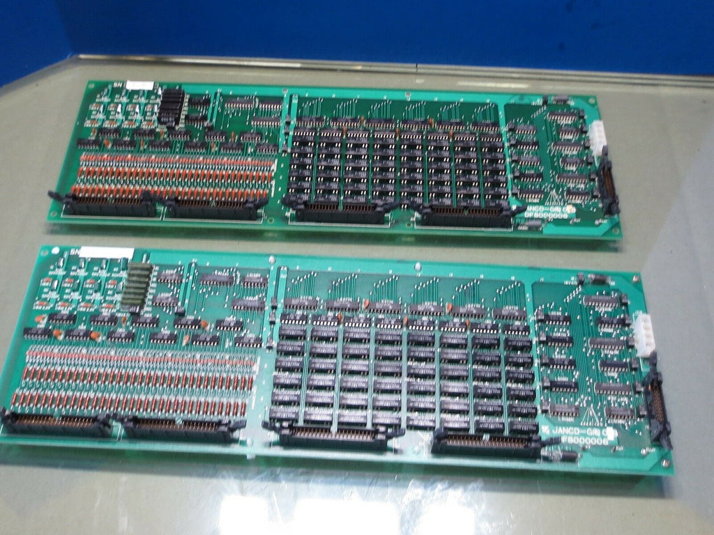 YASKAWA BOARD JANCD-G1O02 DF8000006 JANCD-GIO02B GI002B GI0 02B LOT OF 3 PIECES