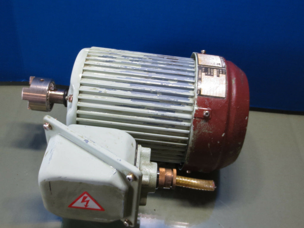 YASKAWA 3 PHASE INDUCTION MOTOR 71-2350 FEQ