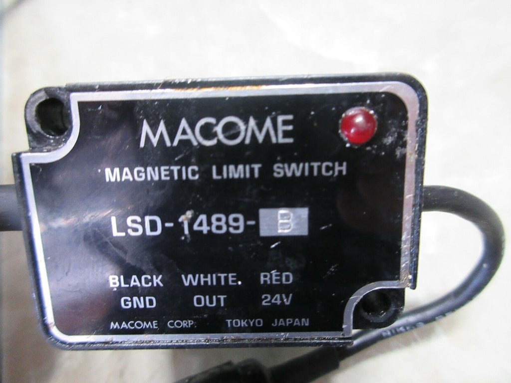 MACOME MAGNETIC LIMIT SWITCH LSD-1489-B CNC