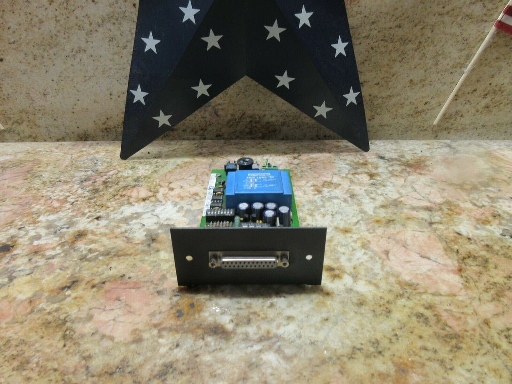 CHARMILLES ROBOFORM RS232 VIDEO RELAY BOARD 856 1250 E TES 1063 2000 EDM