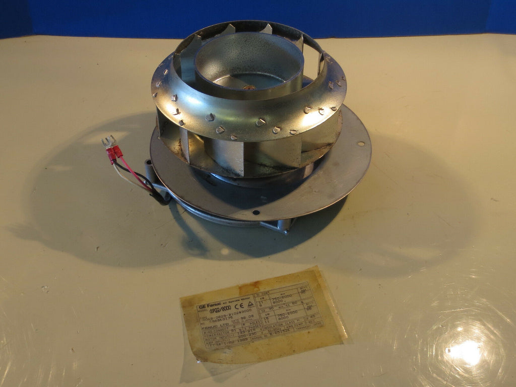 GE FANUC AC SPINDLE MOTOR FAN UNIT A06B-0829-B102#3000
