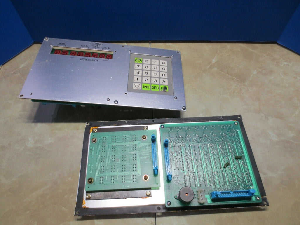 HITACHI SEIKI OPERATOR CONTROL PANEL KEYBOARD HMK-8894-02 S 95204 2673-48-210-00