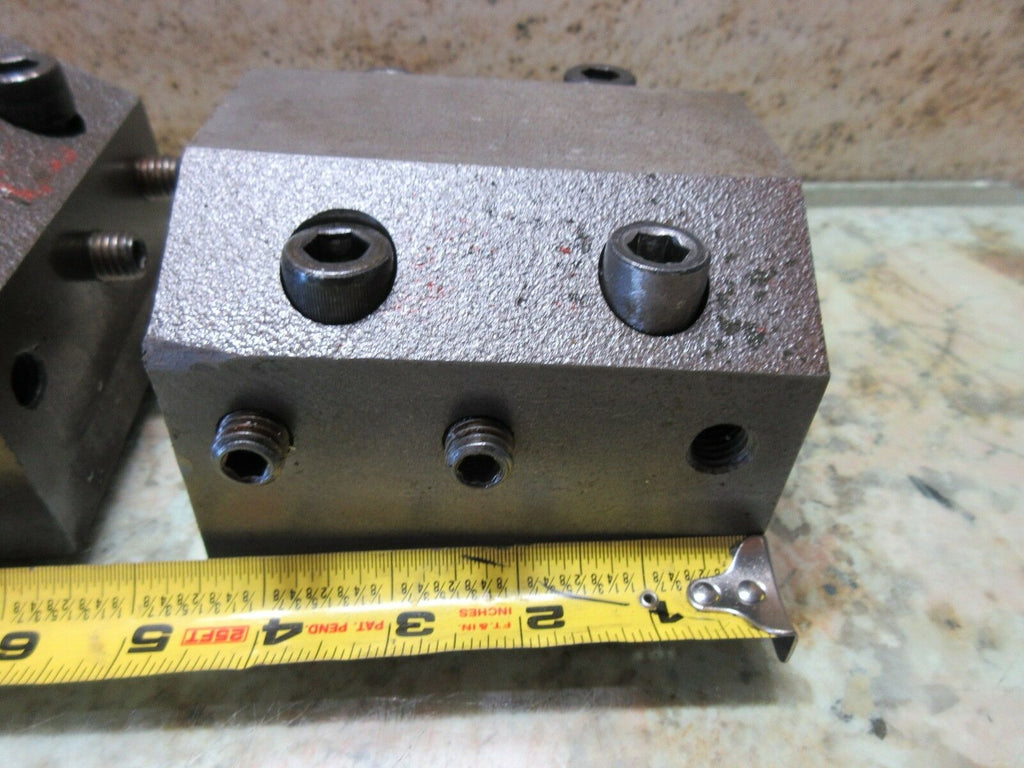 "KIA KIATURN KT 28L CNC LATHE 2"" INCH TURRET TOOLING TOOL HOLDER BLOCK EACH"