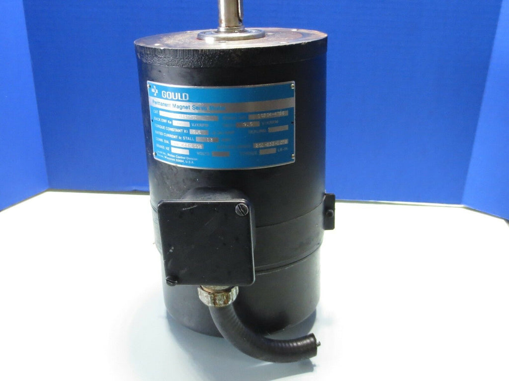 GOULD MAGNETIC SERVO MOTOR 16-0457-01 BLUE LABEL
