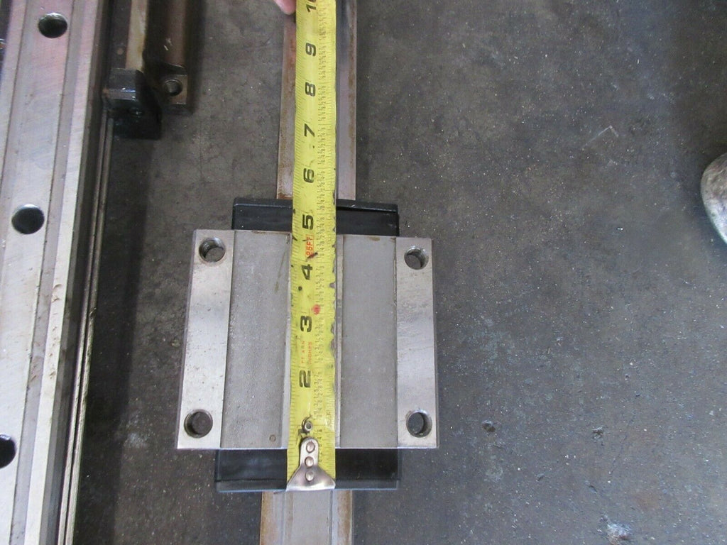 "97 HAAS VF3 CNC VERTICAL MILL NSK 45 5"" LINEAR SCALE GUIDE RAIL 48"" INCH EACH 1"