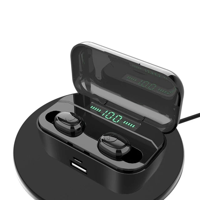 Wireless Headphones With 3500mAh Power Bank