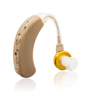 Cheap Hearing Aid Sound Amplifier Micro Aparelho Auditivo BTE S-520 Deaf-aid ear amplifier aparat Free Shipping Hot Selling