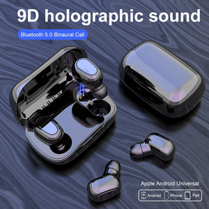 Headphone Bluetooth earphone L21 HIFI Sounds Wireless Headphones Handsfree headset Stereo gaming Headphones For iphone Samsung