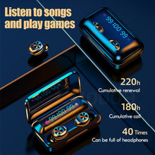 Load image into Gallery viewer, Bluetooth V5.0 Earphones Wireless Headphones With Microphone