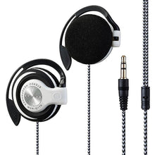 Load image into Gallery viewer, Universal 3.5mm Plug Wired HIFI Stereo Metal Wired Headphones Heavy Bass Headset Over-ear Adjustable Ear hook earphone for phone