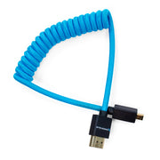 "Micro HDMI to Full HDMI Cable 12""-24"" Braided Coiled"