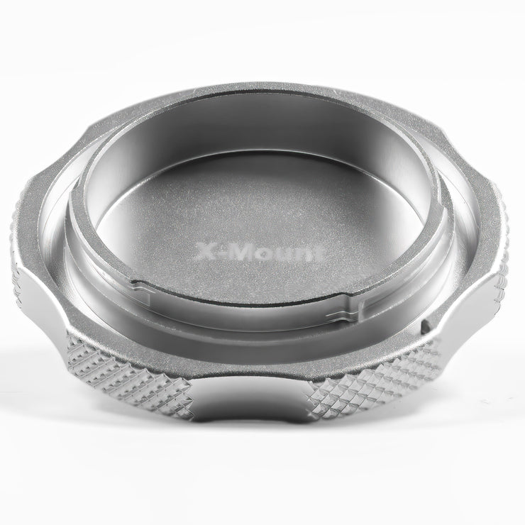 Fuji X Mount Cine Cap - Metal Body Cap for Camera Lens Port