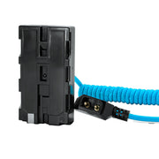 D Tap to Sony L Series Dummy Battery NPF Cable