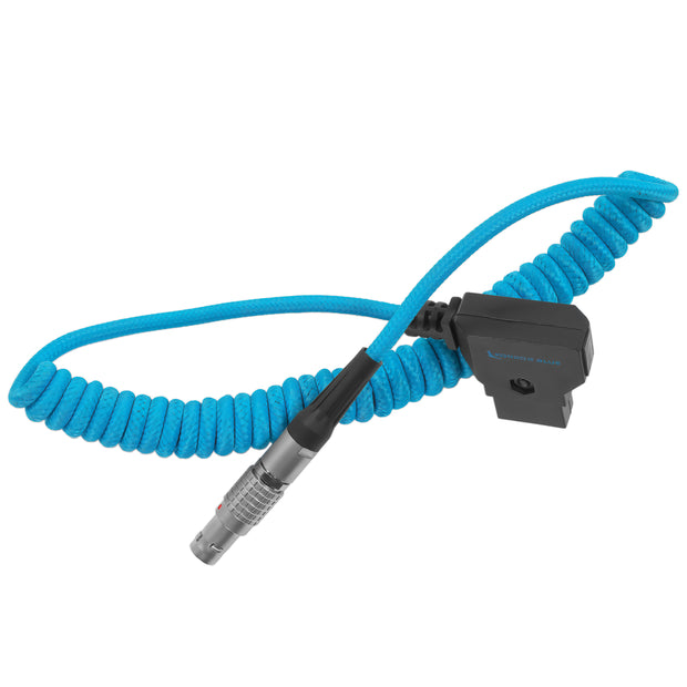 D-TAP to LEMO 2 Pin 0B Male Power Cable for Zcam - Teradek