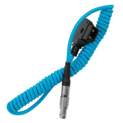 D-TAP to LEMO 2 Pin 0B Male Power Cable for Z Cam, SmallHD, Teradek