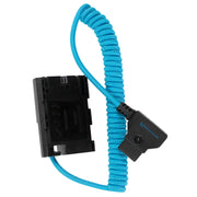 D Tap to Canon LPE6 Dummy Battery Cable