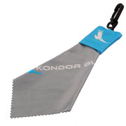 Micro Fiber Lens Wipe Cloth with Pouch and Clip