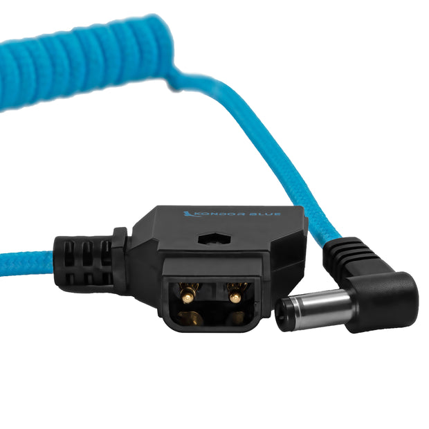 D-Tap to DC Right Angle Coiled Cable (5.5 x 2.5mm) (Canon C70)