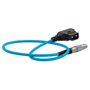 D-TAP to LEMO 2 Pin 0B Male Power Cable for Z Cam - Teradek