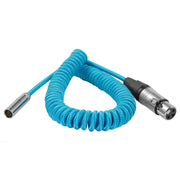 "Coiled Mini XLR to XLR for BMPCC4K/6K Camera (20""-40"")"