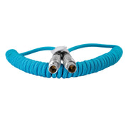 LEMO to LEMO 2 Pin 0B Male Coiled Power Cable for ARRI - Teradek
