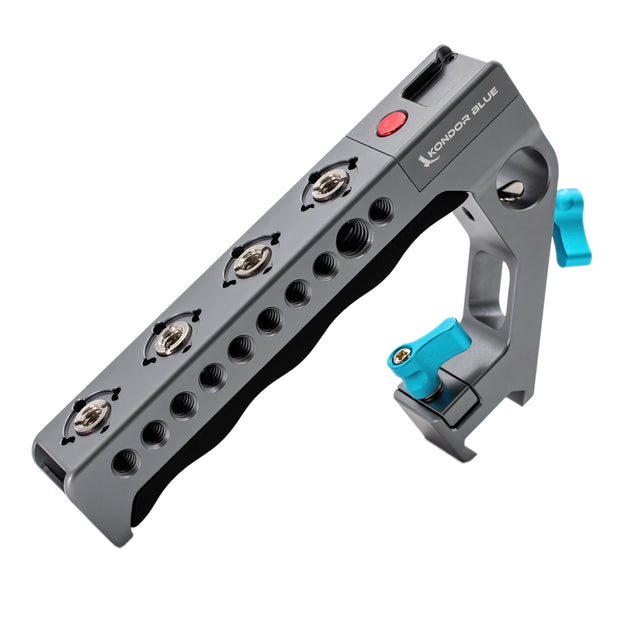 Remote Trigger Top Handle for EOS R5, RED Komodo, Fuji, Z Cam, Ursa, C300, C70, Sony A7, Lumix (Start/Stop Trigger)