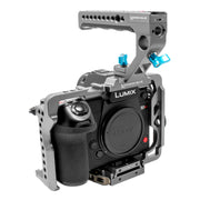 Panasonic Lumix S1H Cage with Lanc Top Handle (S1/S1R/S1H)